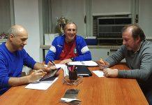 Sebastiano Filardo, Gianni Di Guida e Renato Carrain