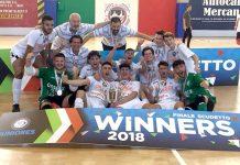 I nuovi campioni italiani Juniores Calcio a 5